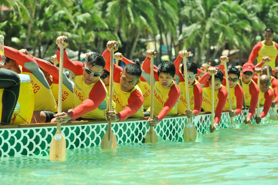 Philippine-Marine-Corps-Dragon-Boat-Team-Action-Shot