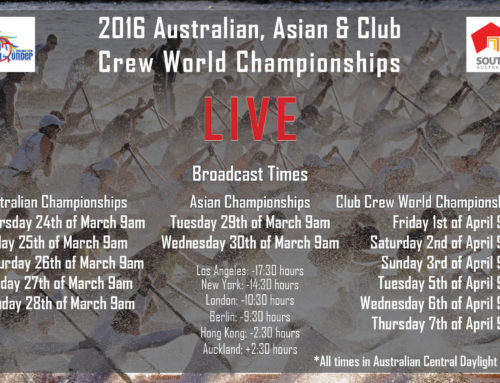 IDBF Asian and World Club Crew Championships 2016 Live Stream